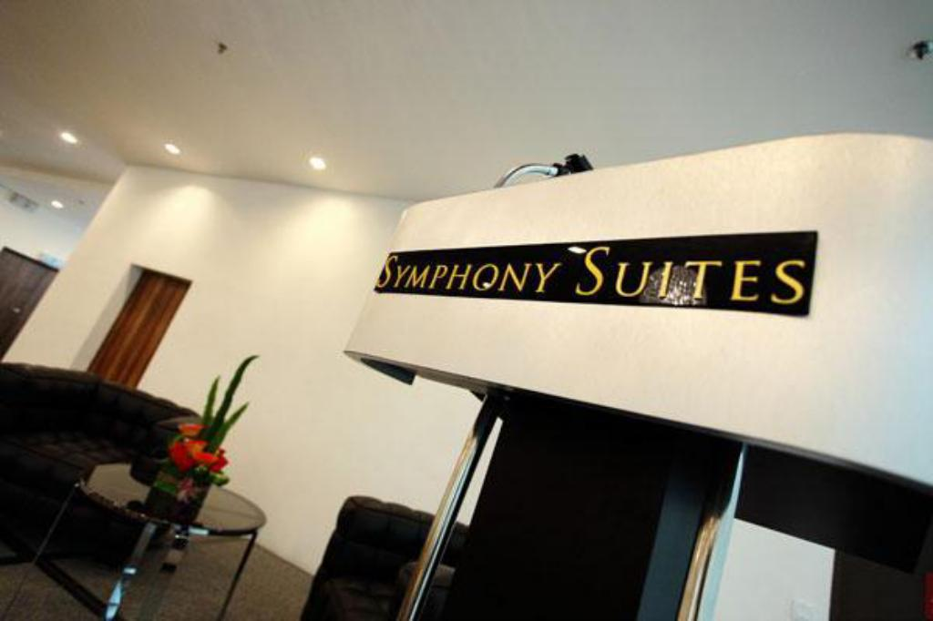 Interior view Symphony Suites Hotel
