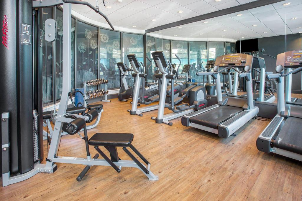 Fitness center Crowne Plaza Amsterdam Schiphol