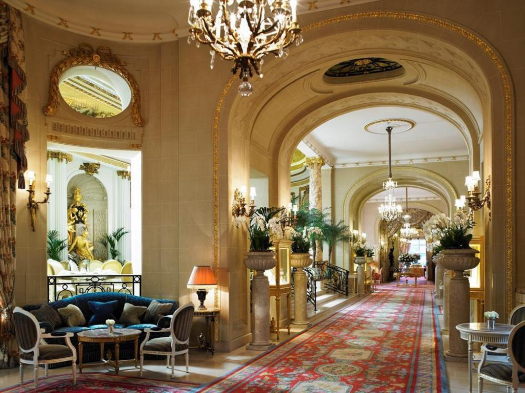Hotelli interjöör The Ritz London