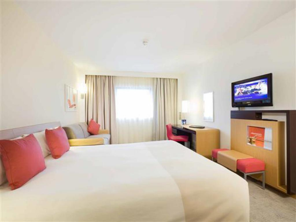 Superior rom med 1 queen og 1 sofa - Seng Novotel Sheffield Centre Hotel