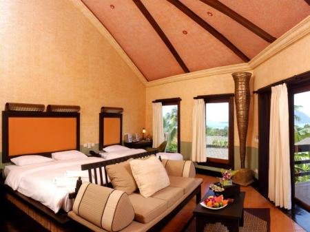Deluxe Jacuzzi Room - Bed Mangosteen Ayurveda & Wellness Resort