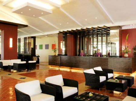 Empfangshalle All Seasons Naiharn Phuket Hotel