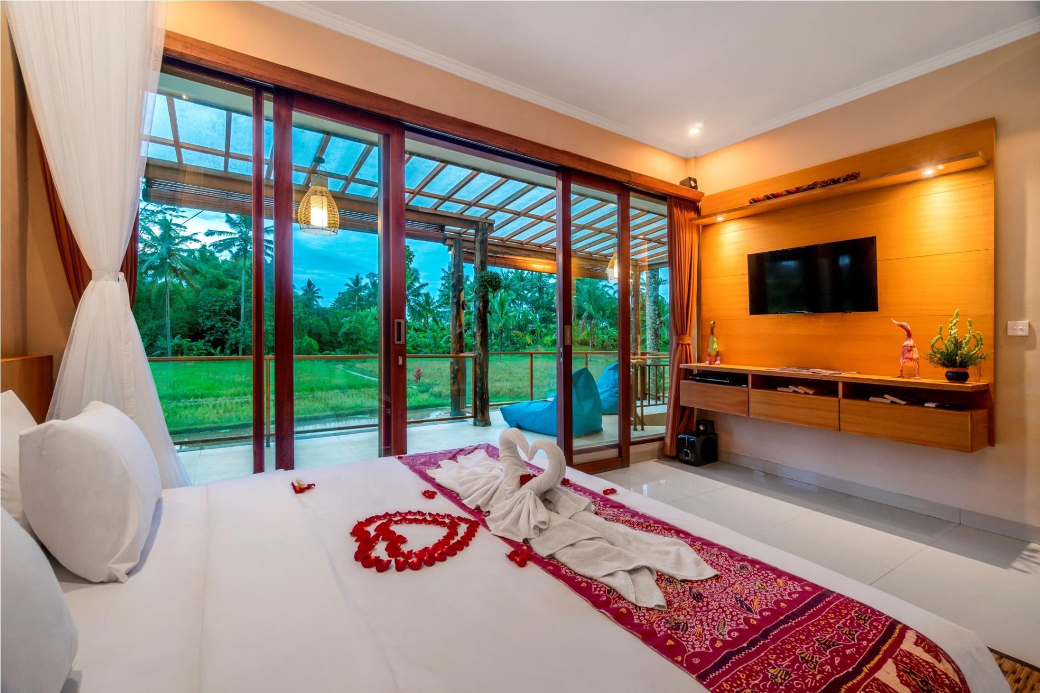 Vasca Da Bagno Uma : Di m² con camera e e bagno i privato i in zona ubud