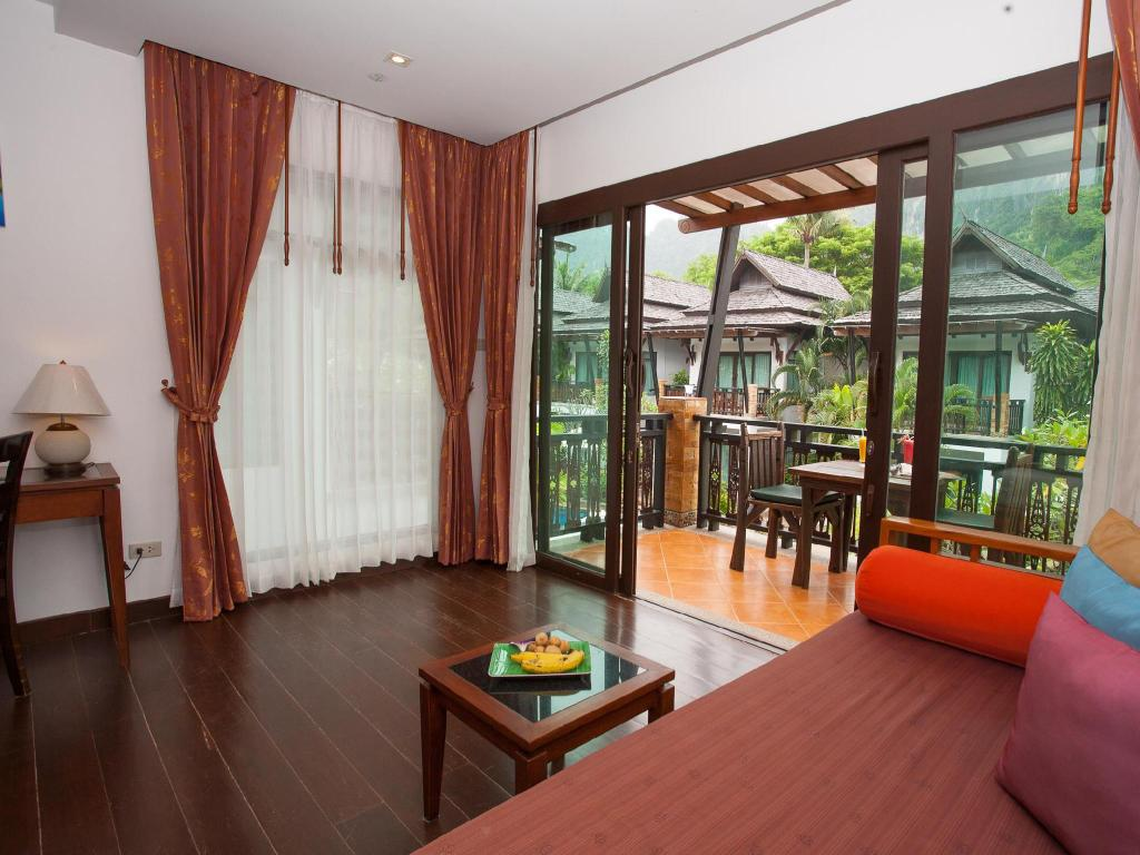 Deluxe med utsikt mot poolen Railay Village Resort