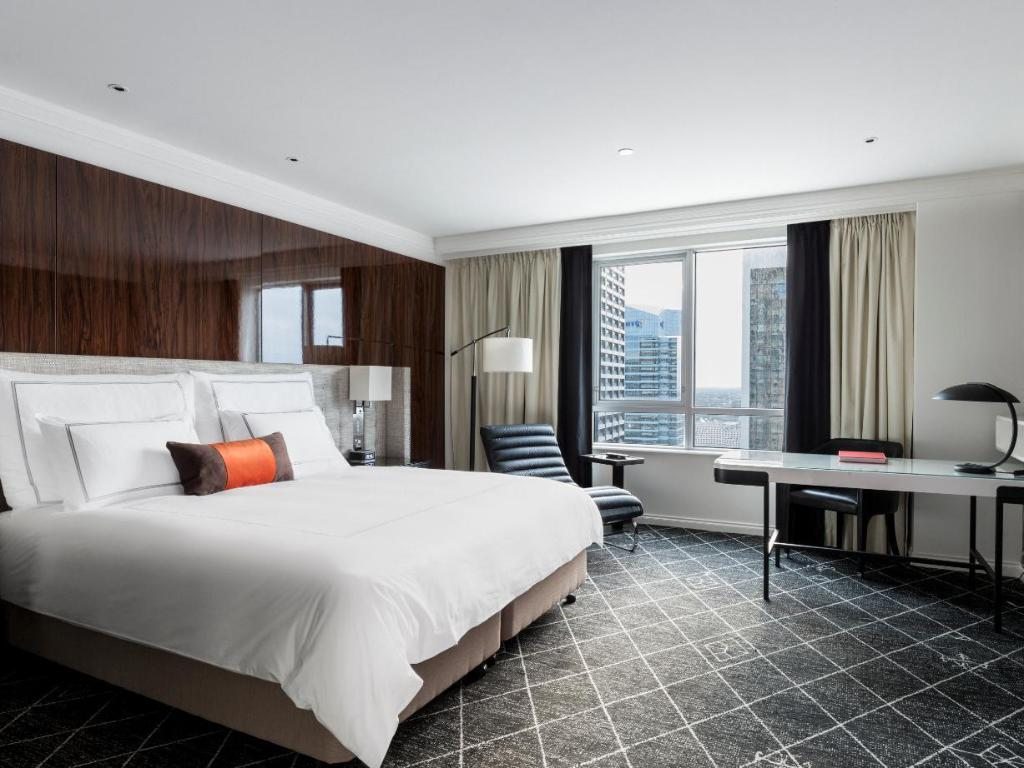 Executive Club King Room - Room plan Swissotel Sydney