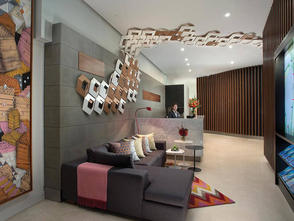 Lobby Citadines St Georges Terrace Apartments Perth