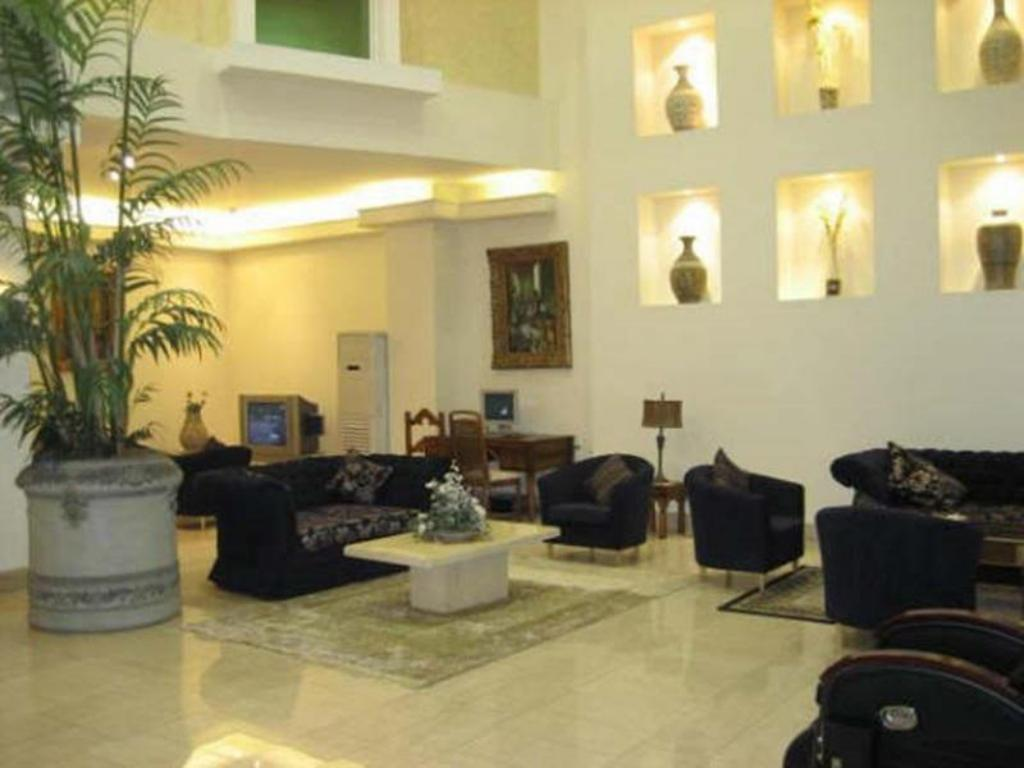 Lobby Aali Hotel Apartments
