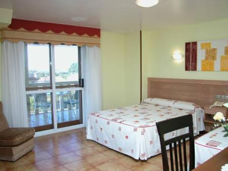 Double or Twin Room with Exterior View Hotel Caribe Sanxenxo