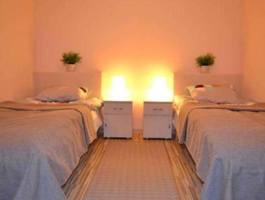 Double or Twin Room with Shared Bathroom Hostel Gdansk Sun and Sea