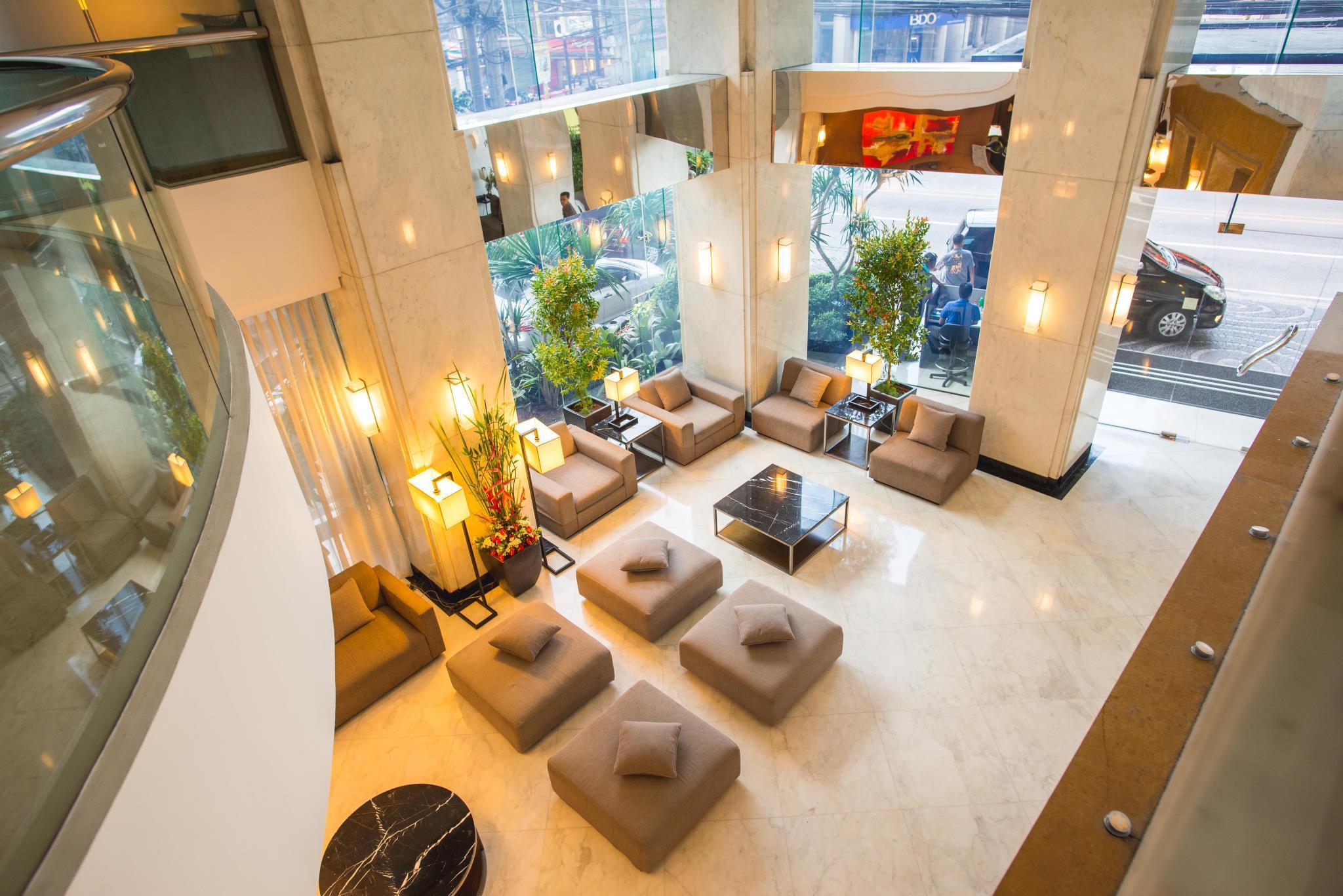 High Quality Lobby City Garden Hotel Makati Photo