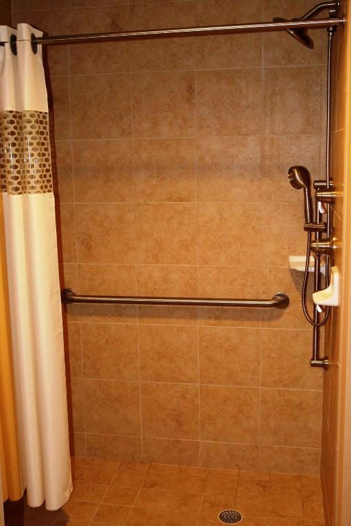 1 King Mobility Hearing Accessible Roll In Shower Studio Non-Smoking - Guestroom