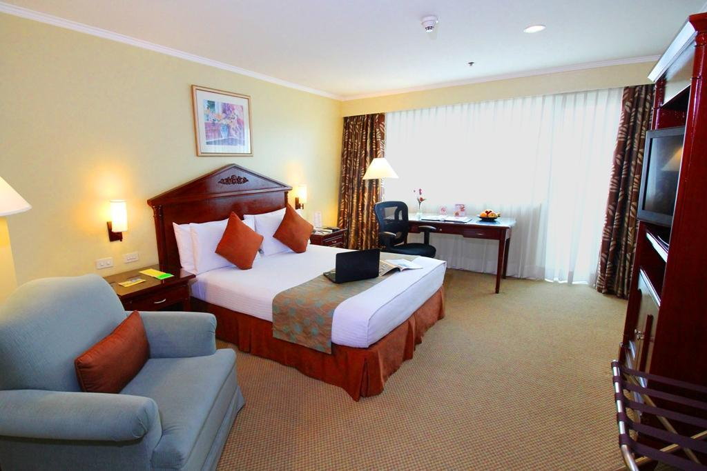 Kamar Executive dengan Kasur Queen – Termasuk Sarapan dan WiFi, Bebas Asap Rokok (1 Queen Bed Executive Room Free WiFi with Breakfast, No Smoking)
