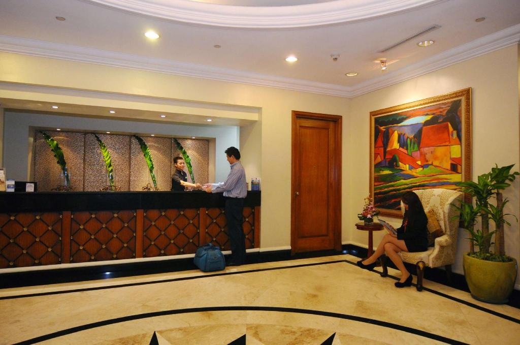 Lobby Best Western Oxford Suites Makati