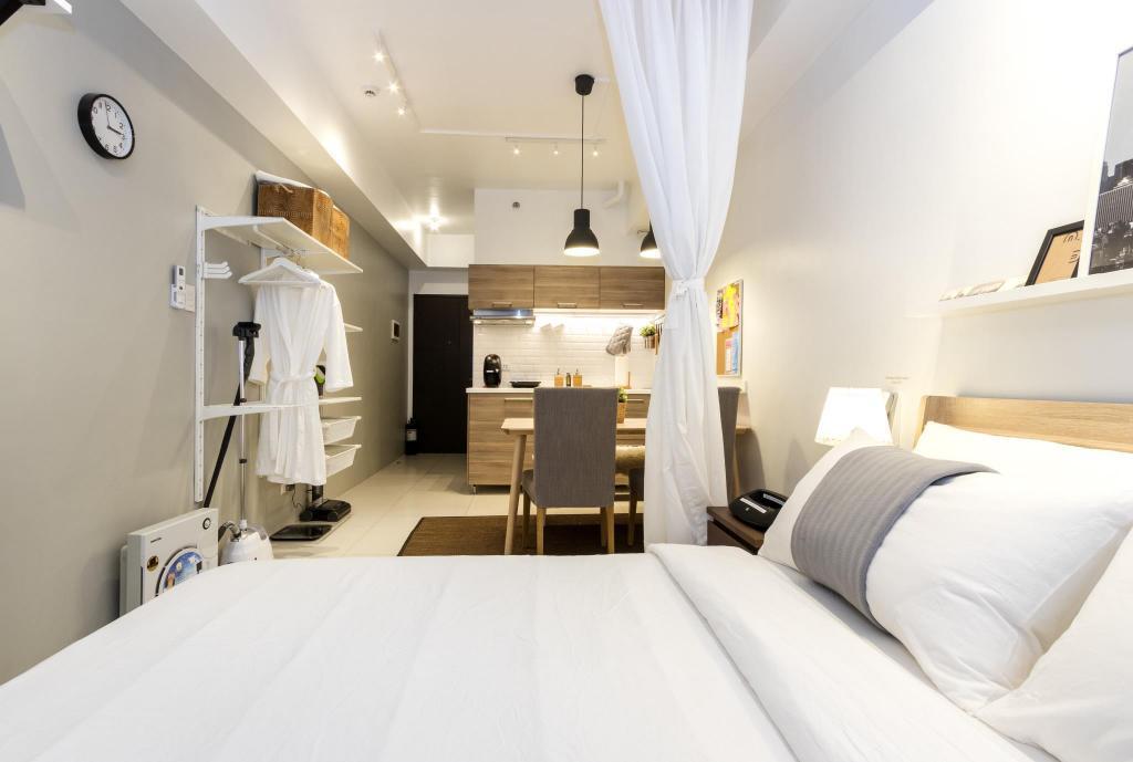 Luxury Scandinavian Studio with Netflix in Ortigas, Manila, Philippines - Photos, Room Rates & Promotions