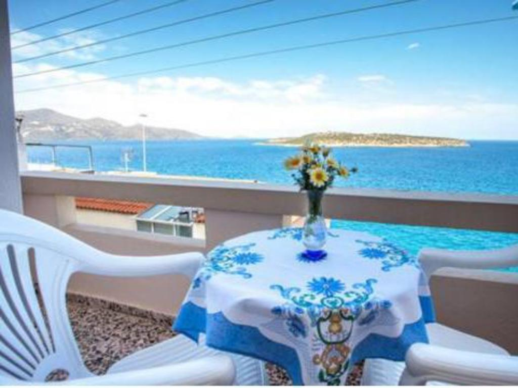 Twin Room with Sea View Pension Mylos