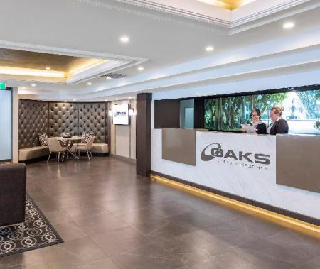 ردهة شقق أوكس هايد بارك بلازا (Oaks Hyde Park Plaza Apartments)
