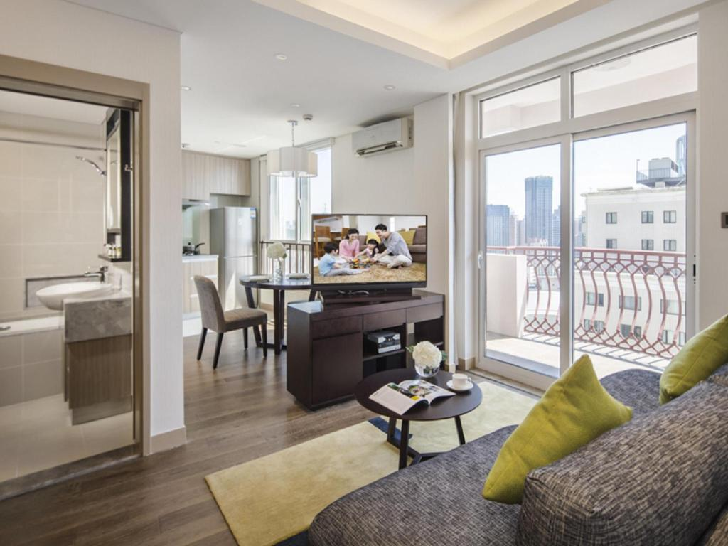 1 Bedroom Deluxe Somerset Xu Hui Shanghai