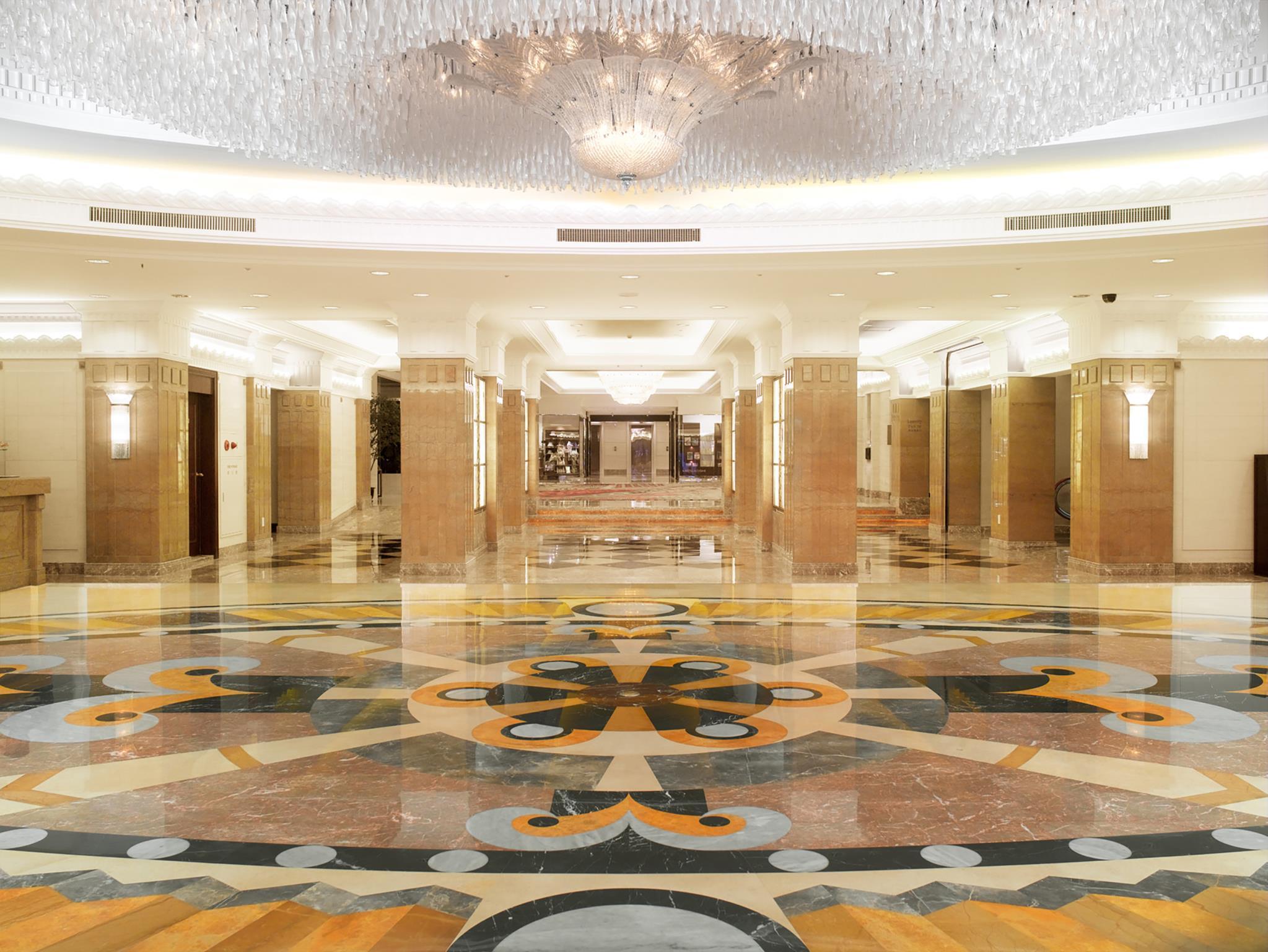 Lobby Okura Garden Hotel. Lobby Photo