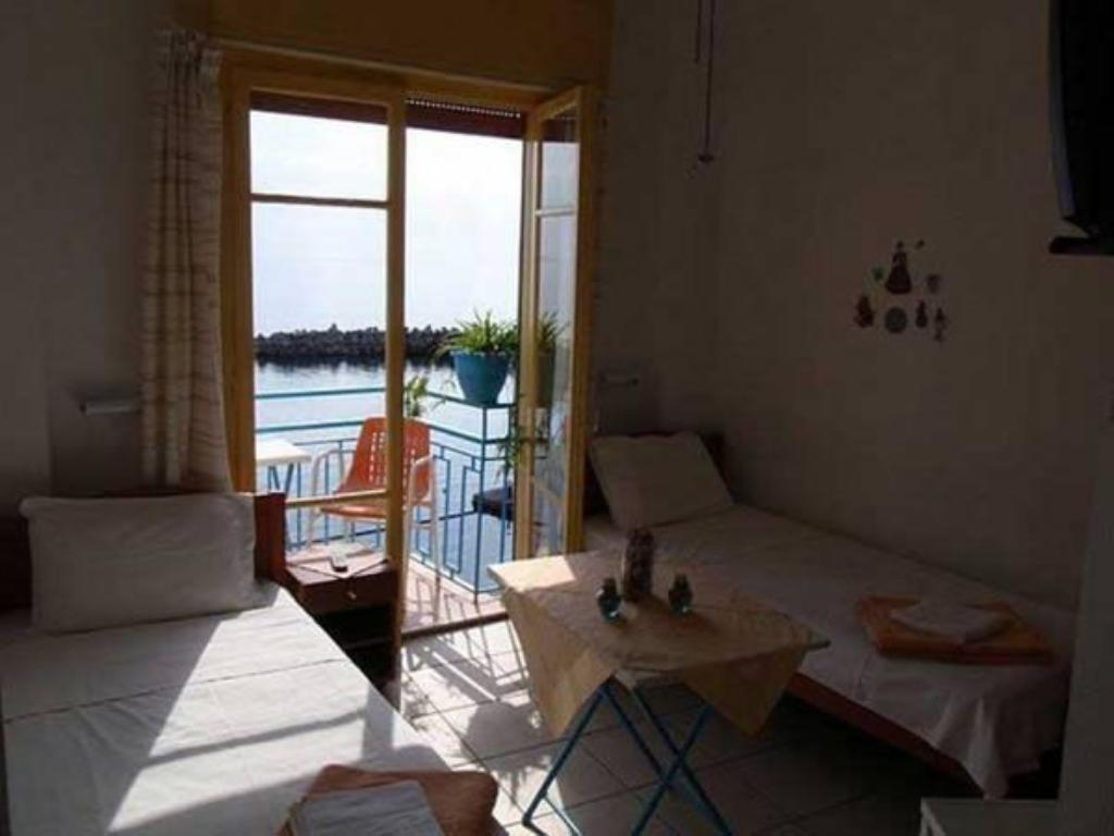 Twin Room with Sea View Aperanto Galazio