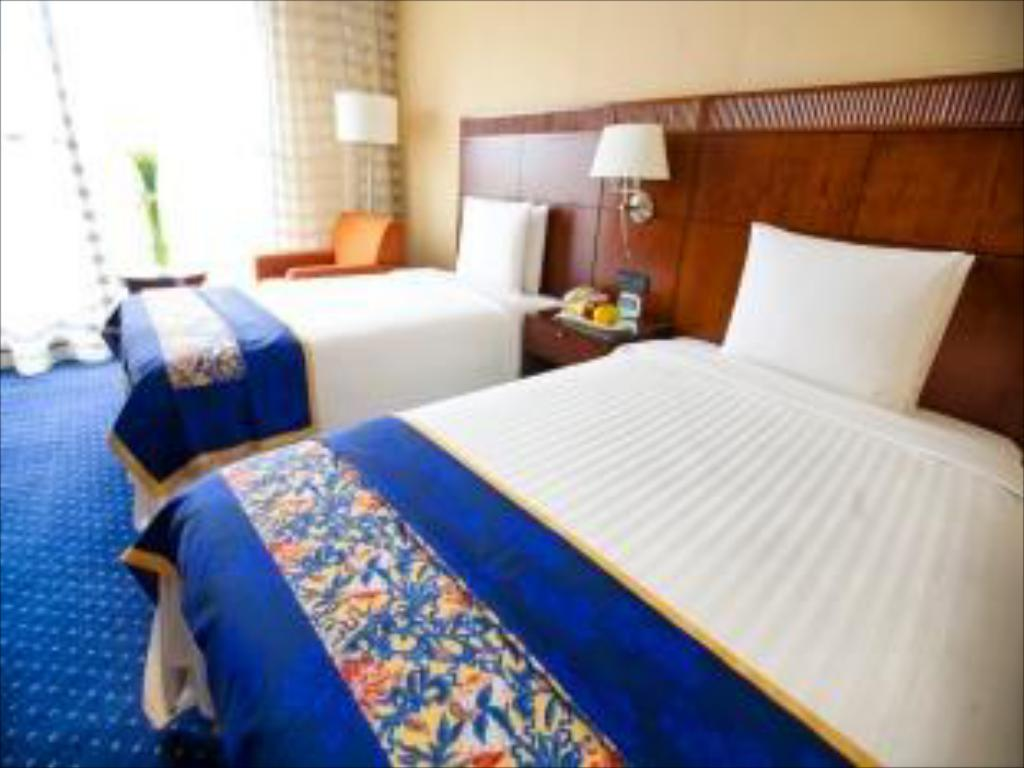 Guest room, 1 King or 2 Twin/Single Bed(s) - Tempat tidur Courtyard Shanghai-Pudong