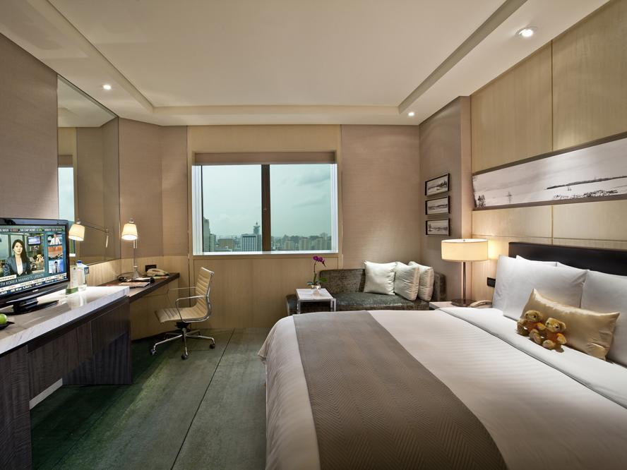 Kamar Premier dengan 1 Kasur King atau 2 Kasur Single (Premier Room, Guest room, 1 King or 2 Twin/Single Bed(s))