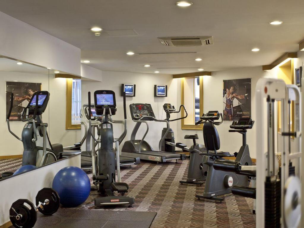 Fitness center Courtyard by Marriott Shanghai-Pudong
