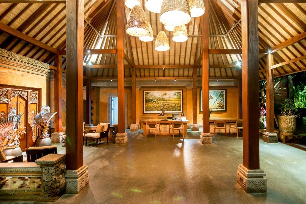 Lobby Ulun Ubud Resort