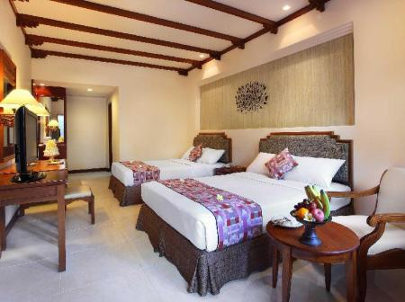 Superior Double or Twin Room - Bed Bali Mandira Beach Resort & Spa