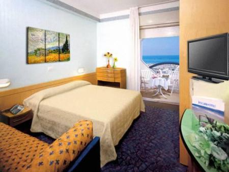 Quadruple Room with Balcony Hotel San Pietro