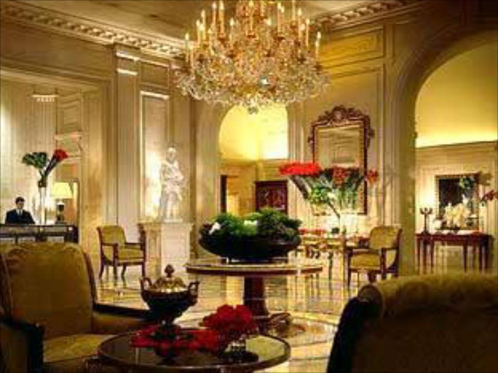 Interior view Four Seasons Hotel George V Paris