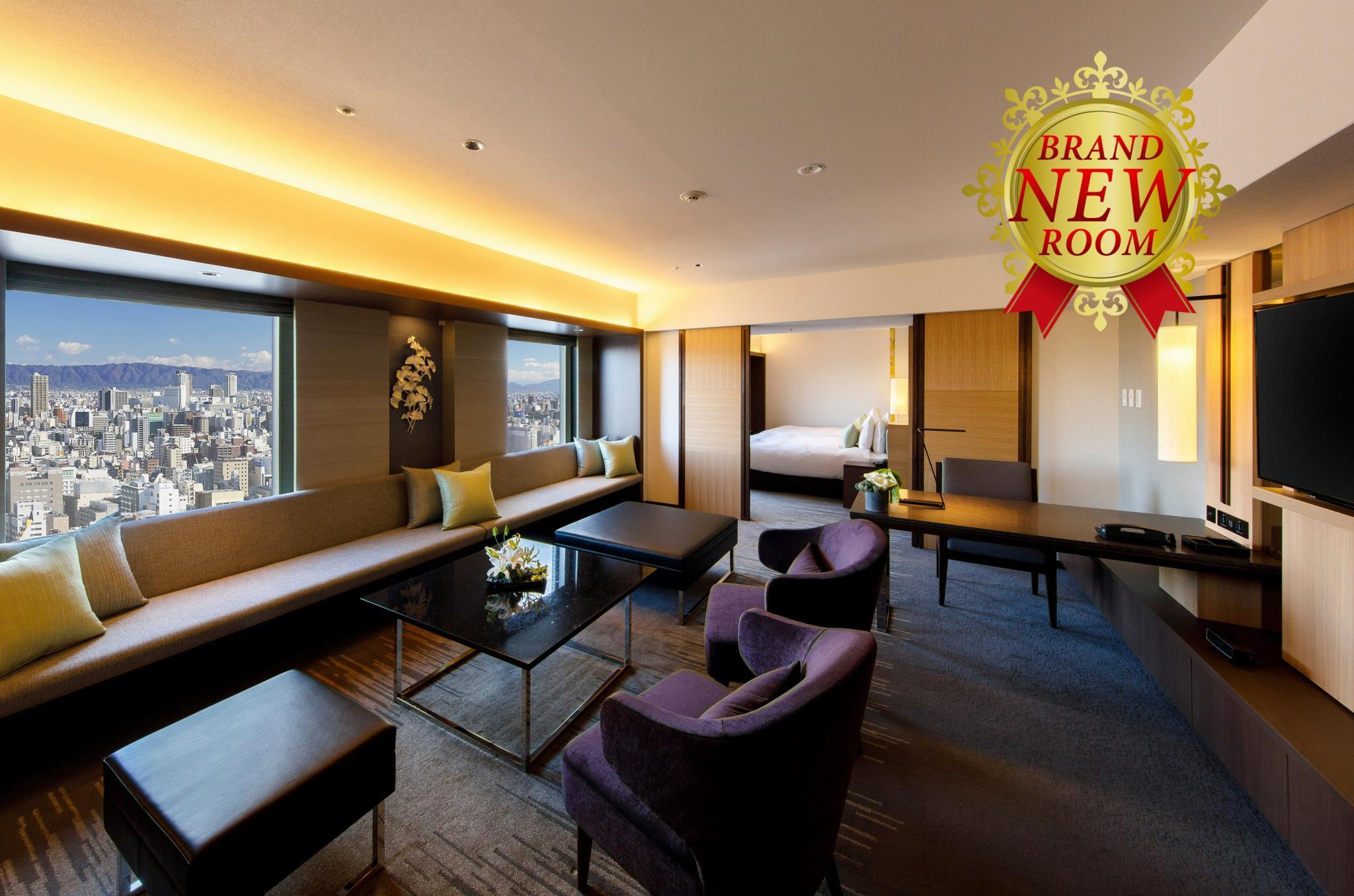 【特惠推廣】日航三人行政套房 - 禁煙 (Nikko Triple Executive Suite - Non-Smoking, Special Offer)