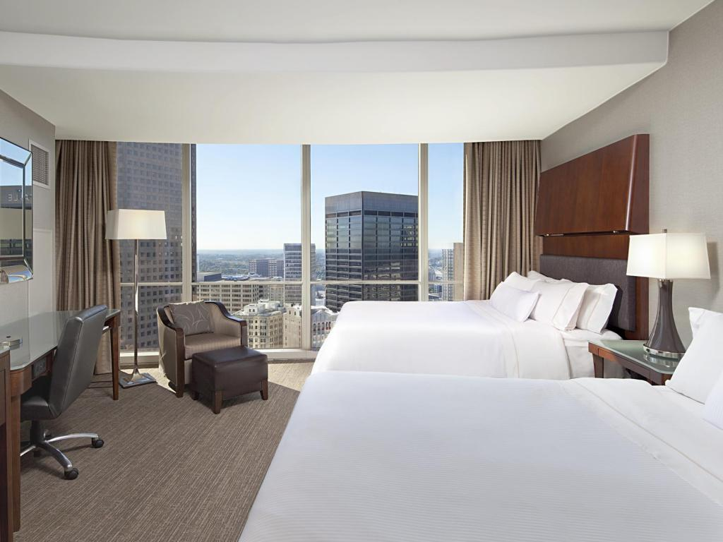 Deluxe Double - Guestroom The Westin Peachtree Plaza Atlanta