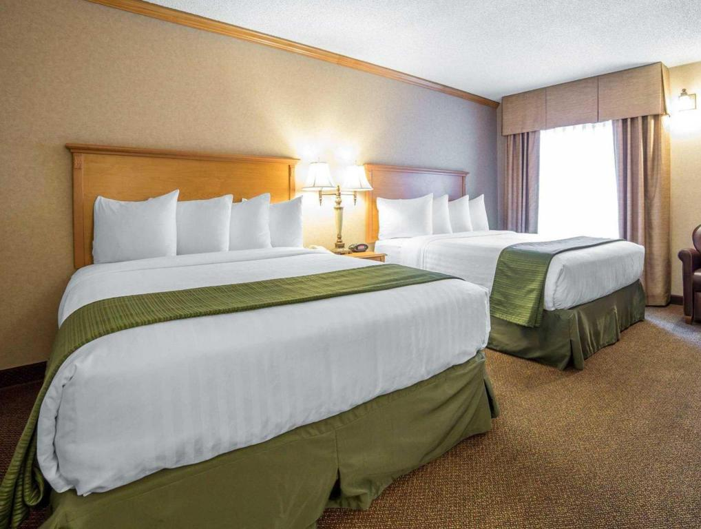 2 Queen Beds Nonsmoking Quality Inn and Suites