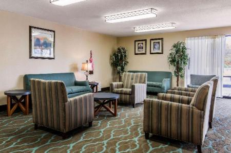 לובי Quality Inn Opryland Area Nashville