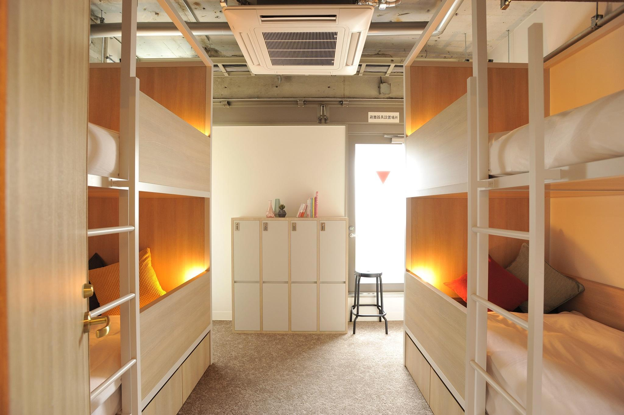 Private Room for 2 People with 2 Bunk Beds - Female Only