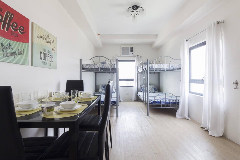 30m² Studio Apartment, 2 Eigene(s) Badezimmer In Malate (1910 Studio