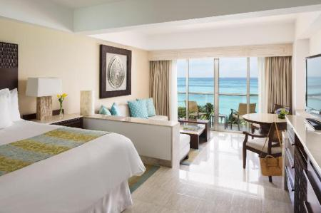 Junior Suite King Ocean View Grand Fiesta Americana Coral Beach Cancun