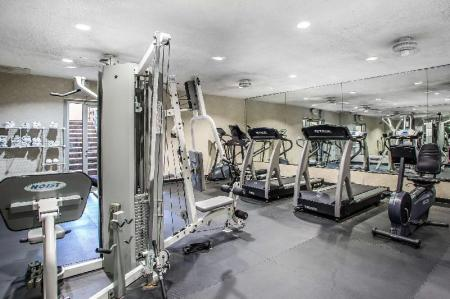 Fitness center Quality Inn O'Hare Airport