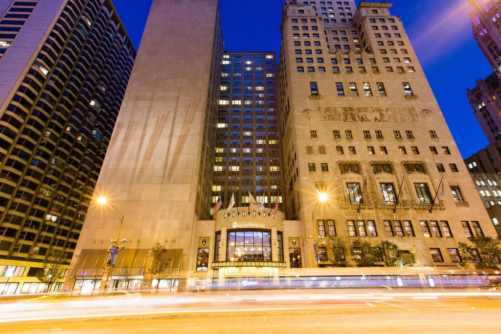 Exterior view InterContinental Hotel Chicago