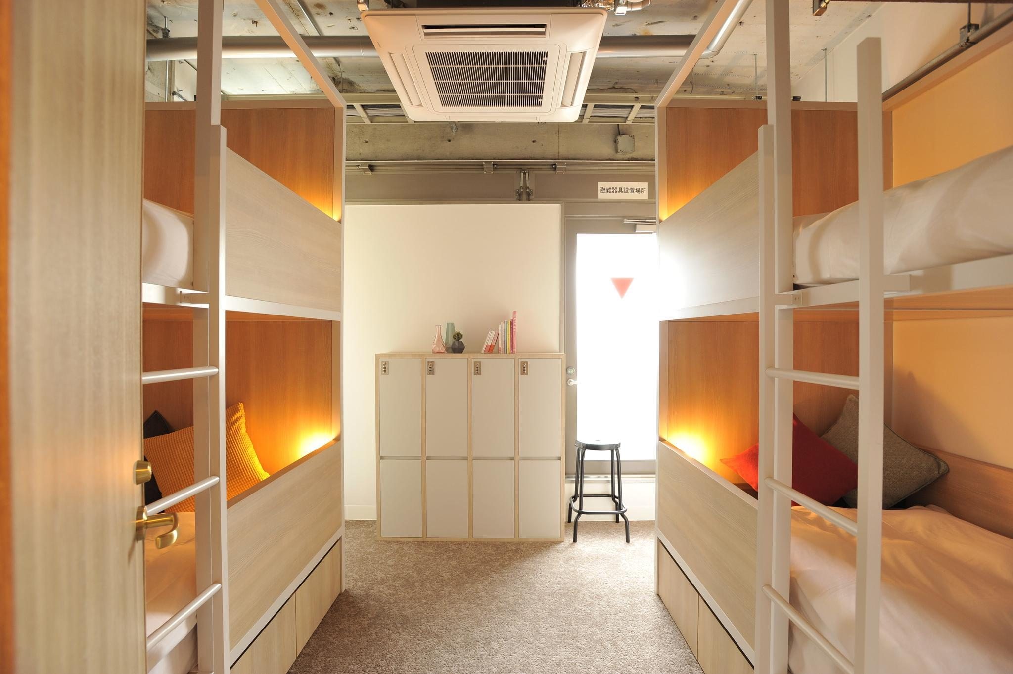 Private Room for 4 People with 2 Bunk Beds - Female Only