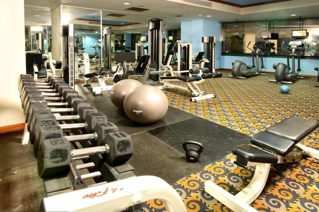 Fitness center Tegucigalpa Marriott Hotel