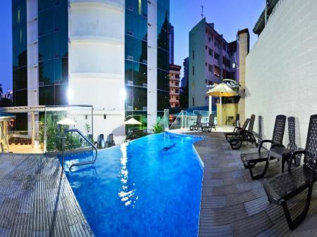 Swimming pool [outdoor] Grand International Hotel