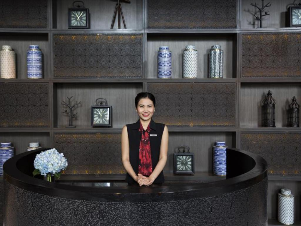 Empfangshalle Marriott Executive Apartments Bangkok, Sukhumvit Thonglor