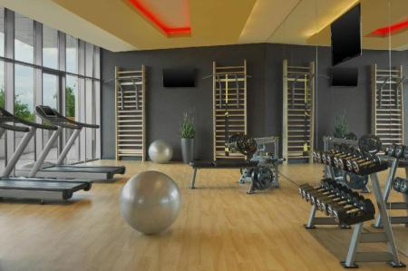 Fitness center Four Points by Sheraton Kecskemet Hotel & Conference Center