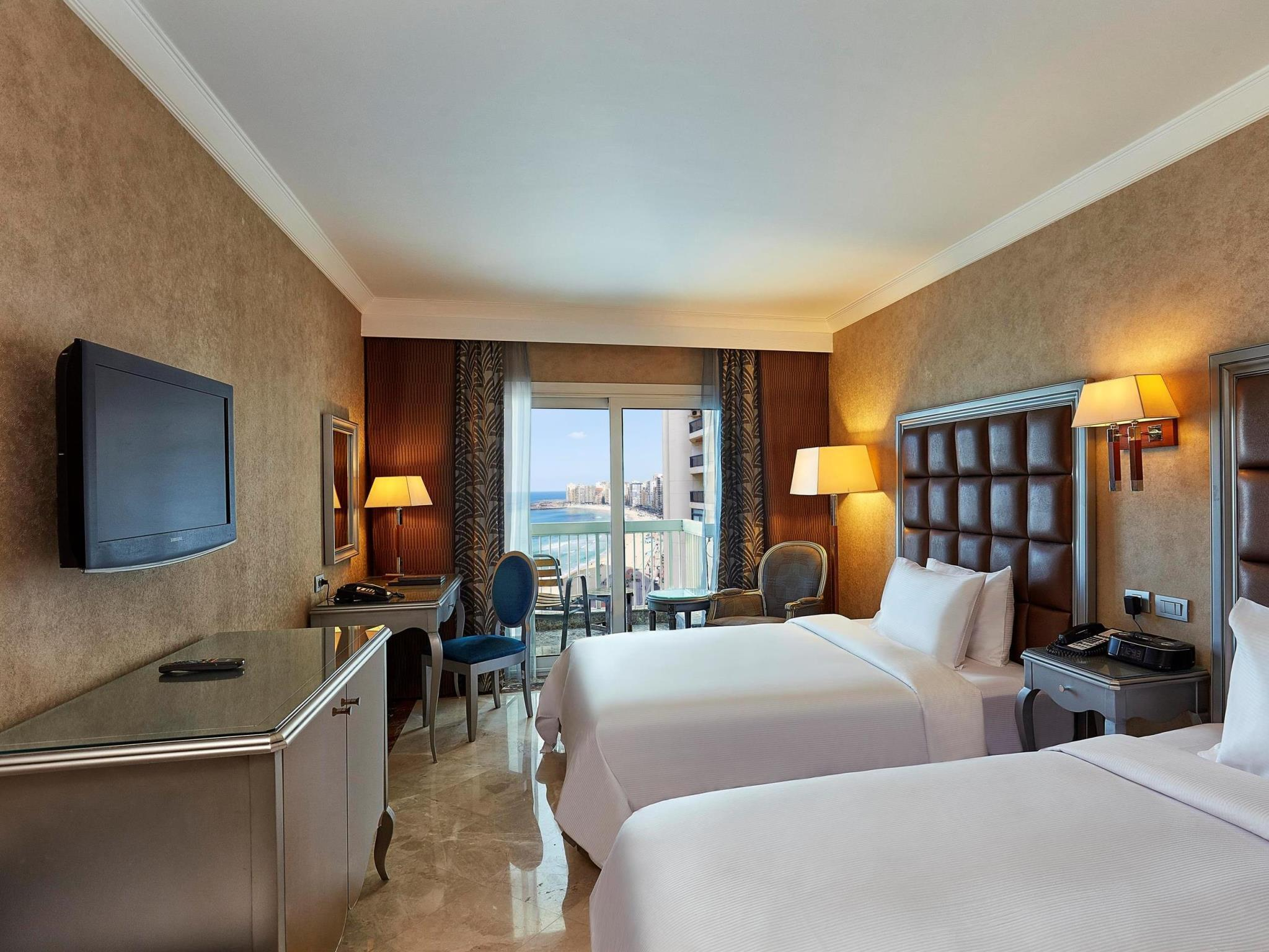 Twin Executive Room Partial Sea