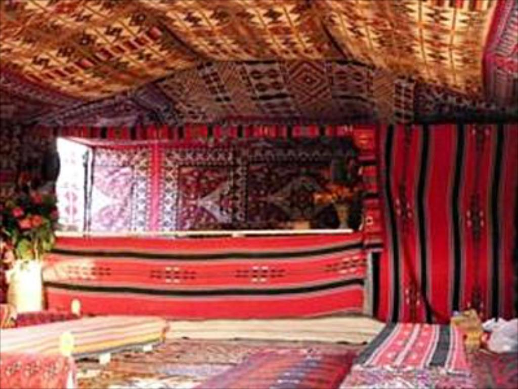 Interior view Bedouin Meditation Camp