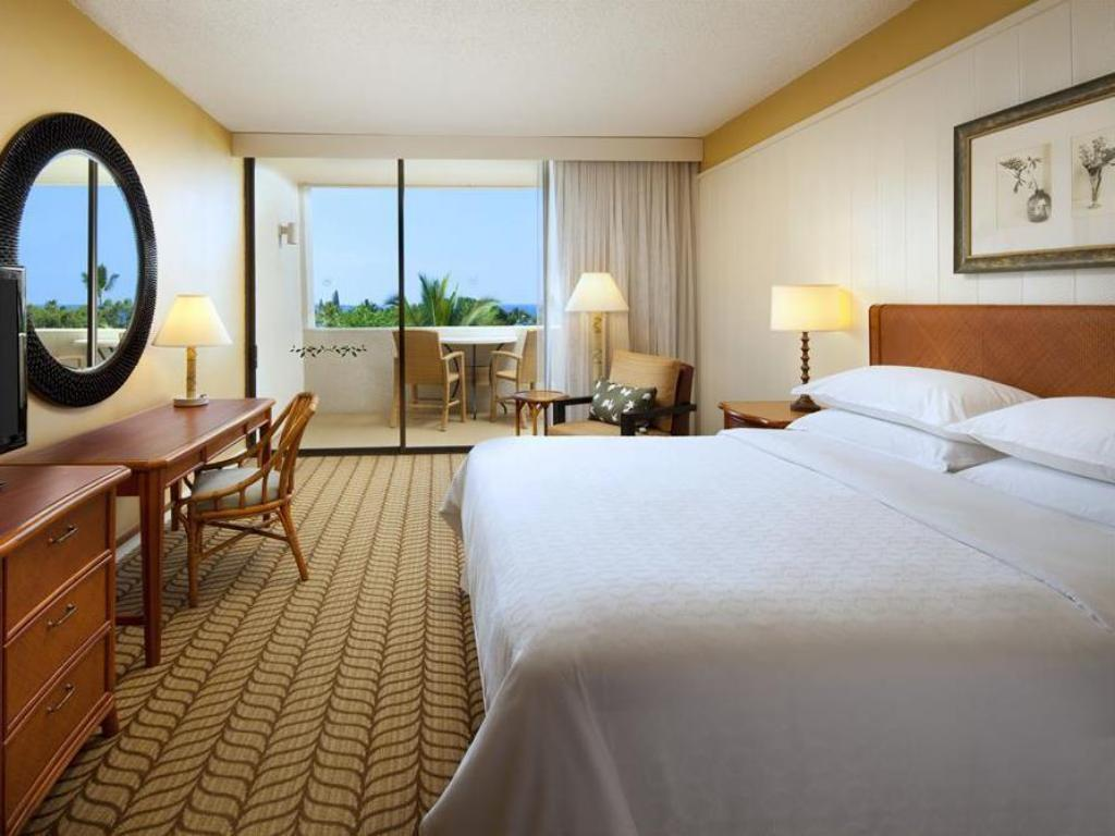 Partial Ocean View - Guestroom Sheraton Kona Resort and Spa at Keauhou Bay