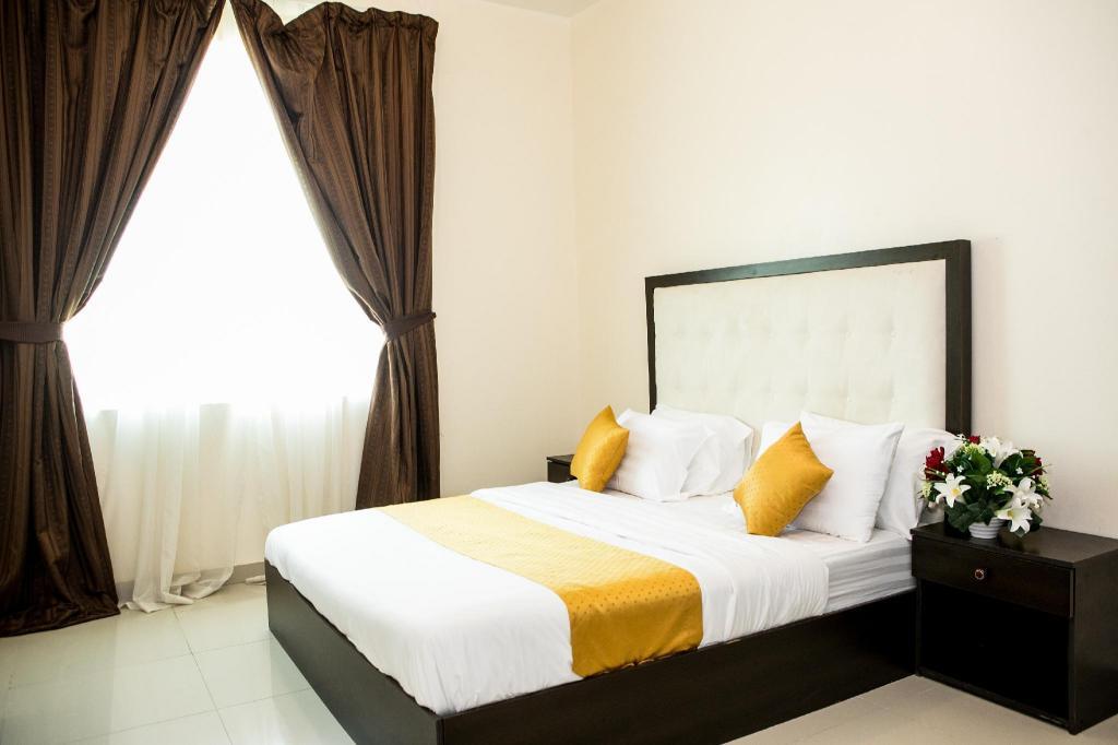 56m2 1 slaapkamer, 1 privé badkamer Appartement in Khalifa stad ...