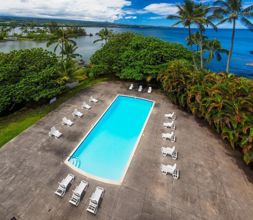 Swimming Pool Outdoor Castle Hilo Hawaiian Hotel