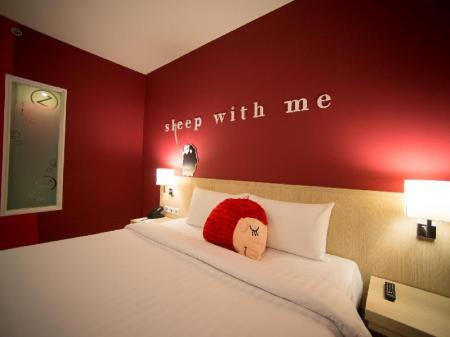 Superior-rum med balkong - Faciliteter Sleep with Me Hotel Design Hotel at Patong